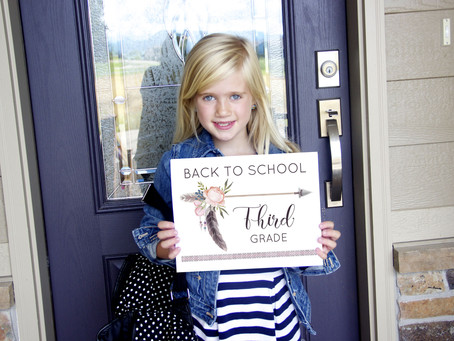 Boho FREE First Day Of School Signs