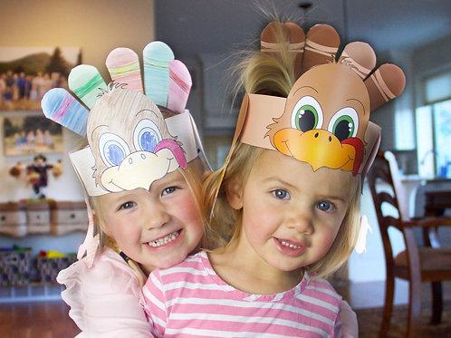 Printable Turkey Headband