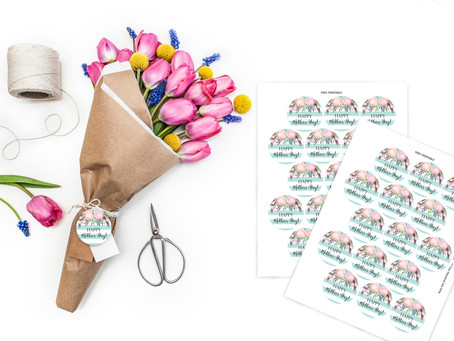 Mother's Day Printable Gift Tag