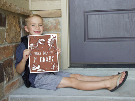 Free Printable Dino First & Last Day Of School Signs