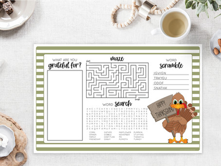 5 Easy Thanksgiving Crafts and Games for Kids