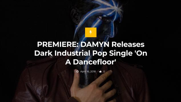 PREMIERE: DAMYN - 'On A Dancefloor'