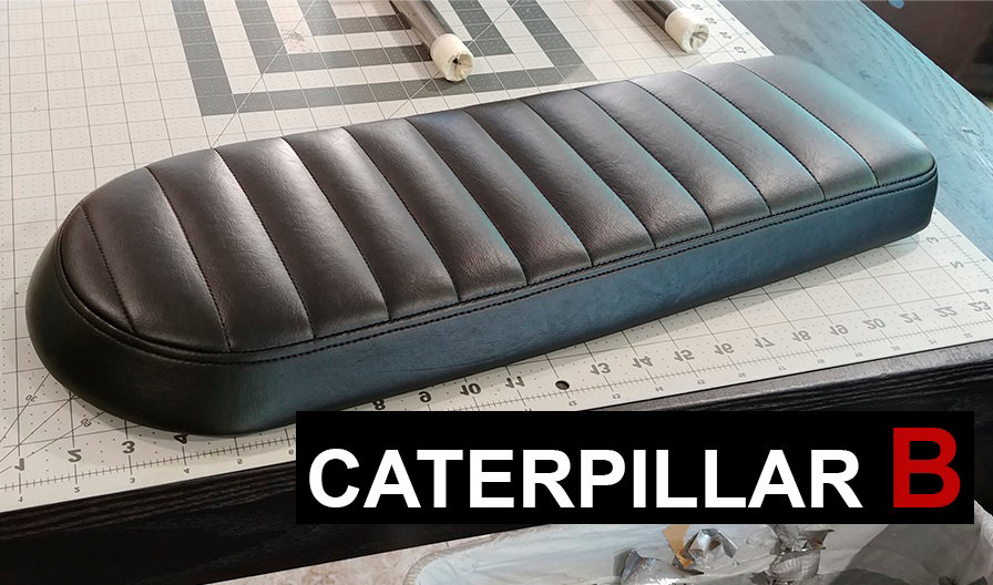 Caterpillar Style B Cafe Racer Seat