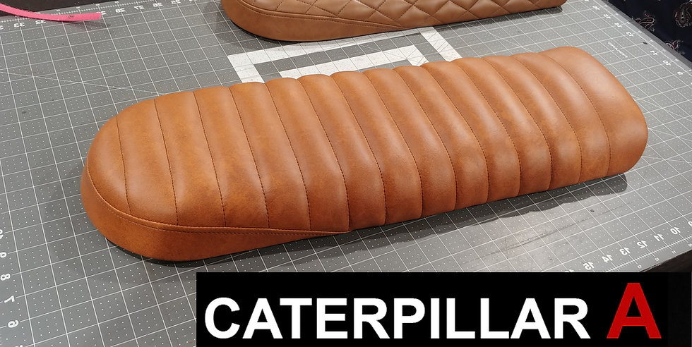 Caterpillar Style A Cafe Racer Seat
