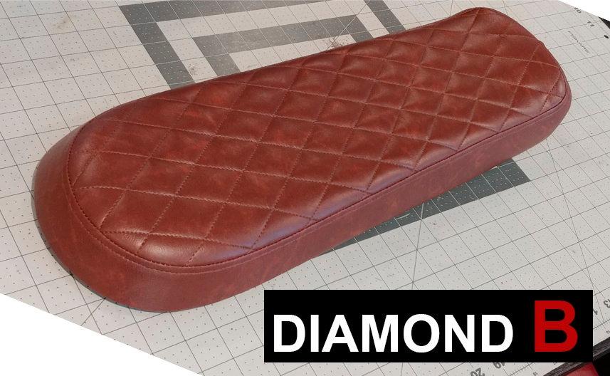 Diamond Style B Cafe Racer Seat