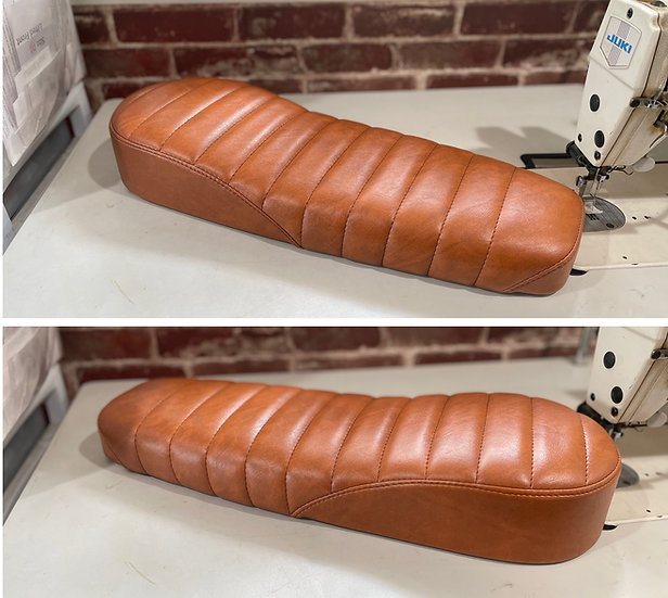 Two-Up Caterpillar Cafe Racer Seat for Super73