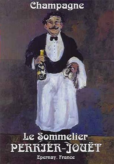 Le Sommelier by Guy Buffet