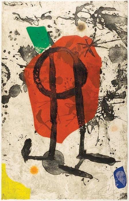 Els Gossos IX by Joan Miro