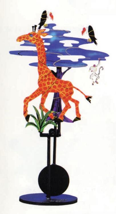 TableTop Giraffe by Fredrick Prescott