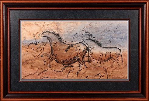 Lascaux Horse by Carol McLaughlin