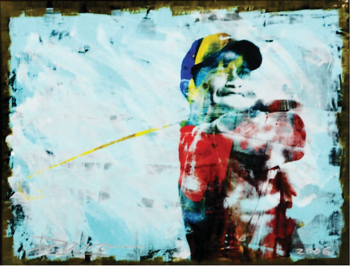 Tiger Woods by Davo
