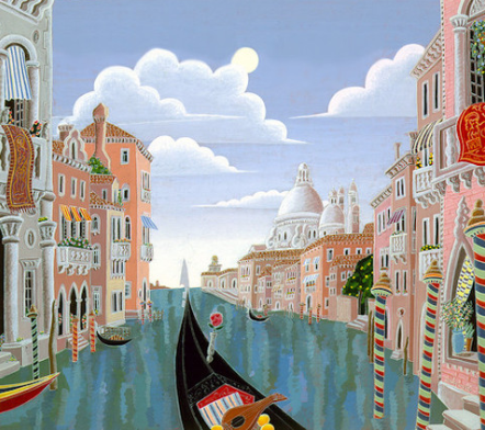 Venetian Evening by Thomas Mcknight