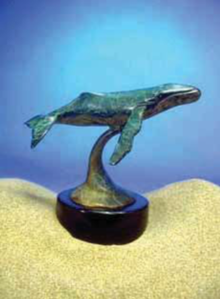 Humpback Whale Mini by Dale Evers