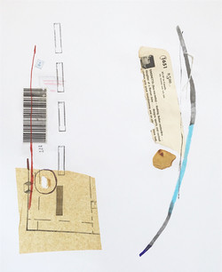 Untitled (barcode petal)