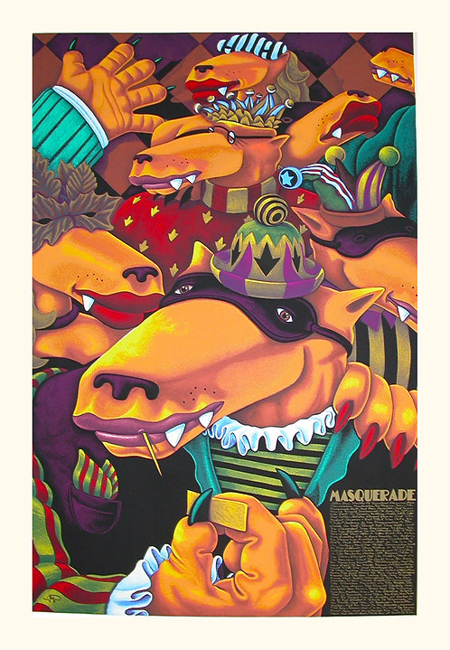 Masquerade by Markus Pierson