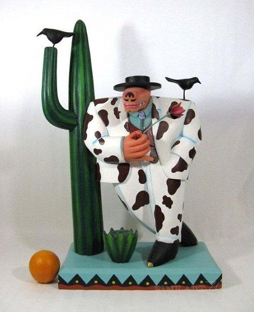 Gaucho Man sculpture by Markus Pierson