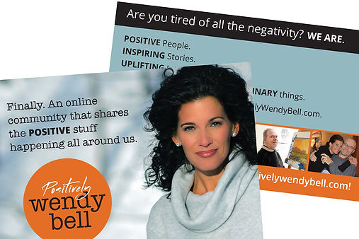 Positively Wendy Bell Invitation