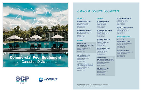 SCP Commercial Product Canada 2020