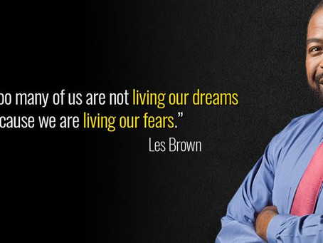 Great Thinkers- Les Brown