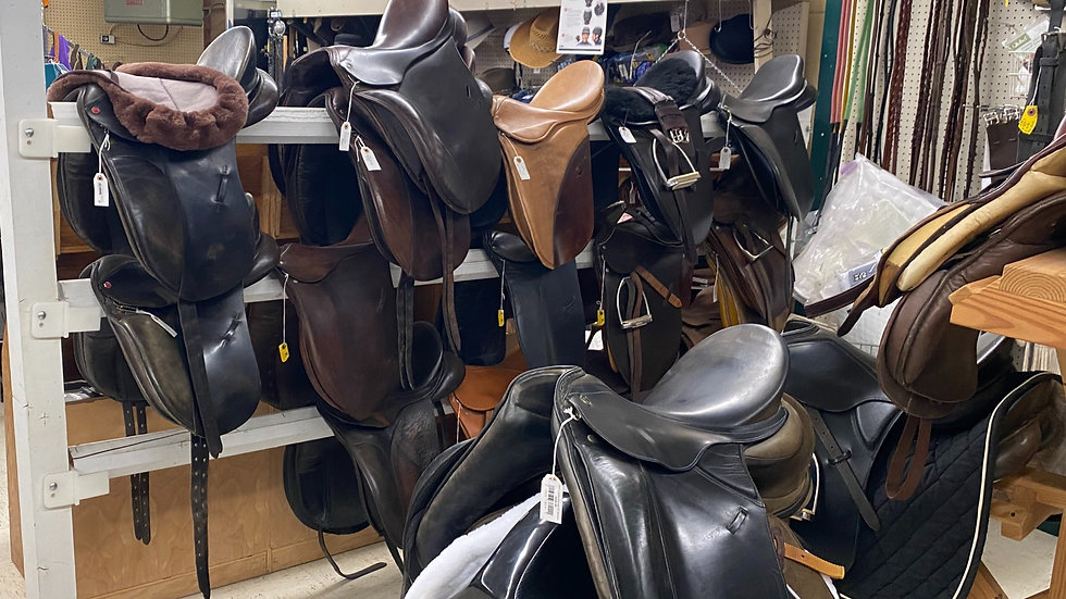 Used English Saddles