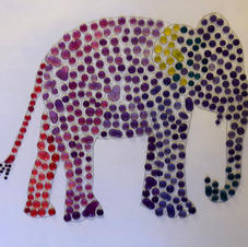 Red cabbage Elephant