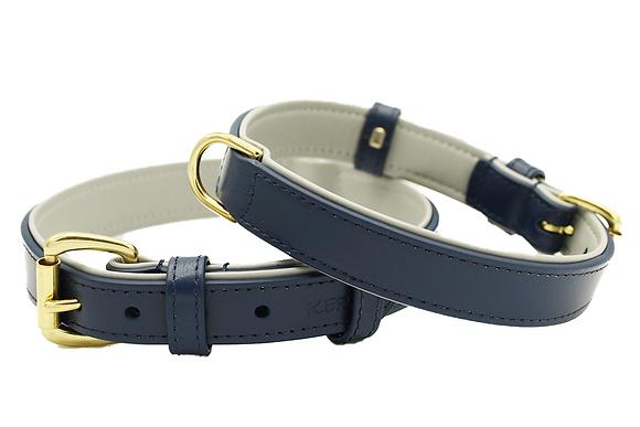 Oxford Italian Leather Collar