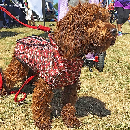Red Camouflage Dog Jacket