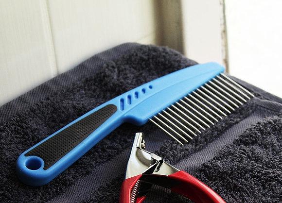Fur Comb with Grip / Flea Comb