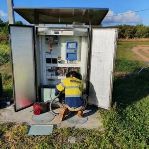 Torres Strait AGL Maintenance program to 5 Islands April 2021
