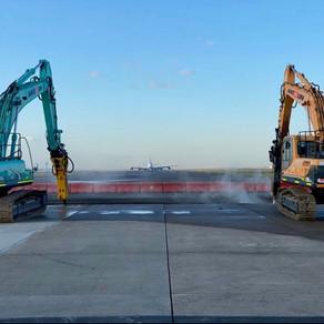 Sydney 16R Slab Replacement Project Clients Sydney Airport & Antoun Civil.