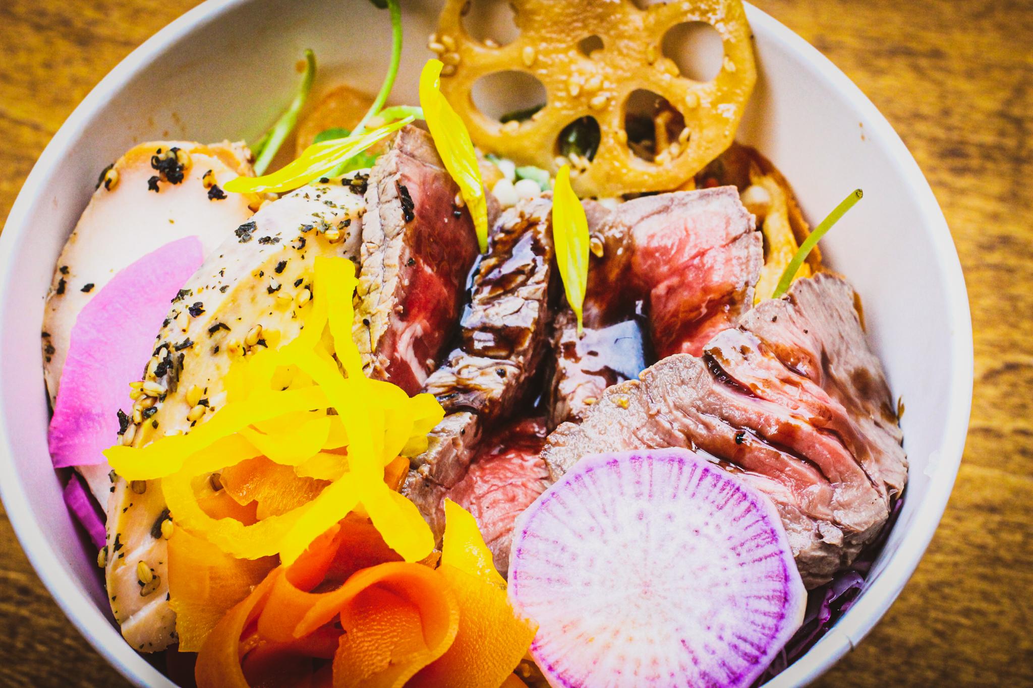 牛肉のタリアータ弁当