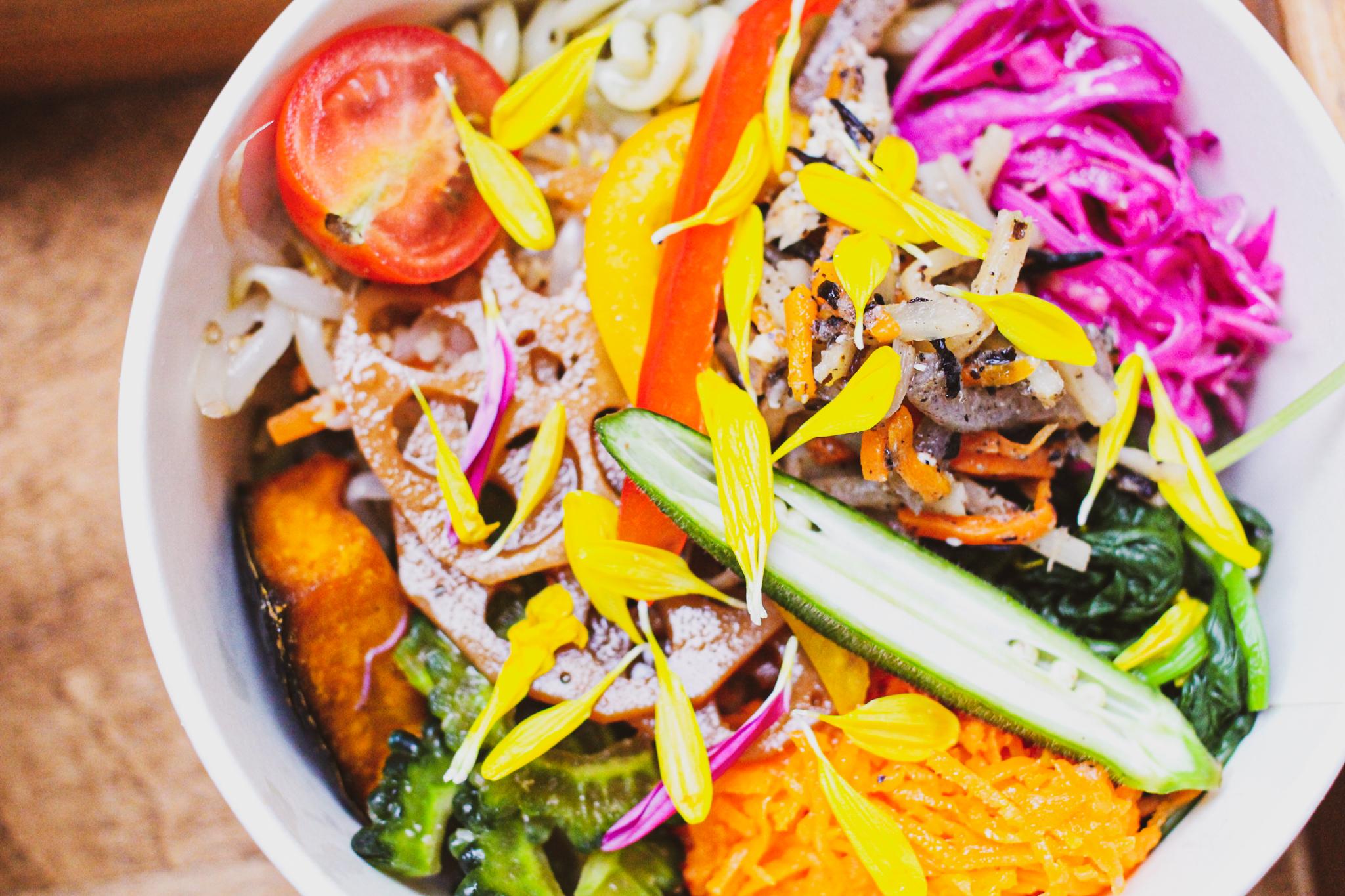 10品目の野菜弁当