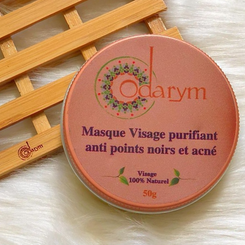 Masque visage purifiant Anti-Acné