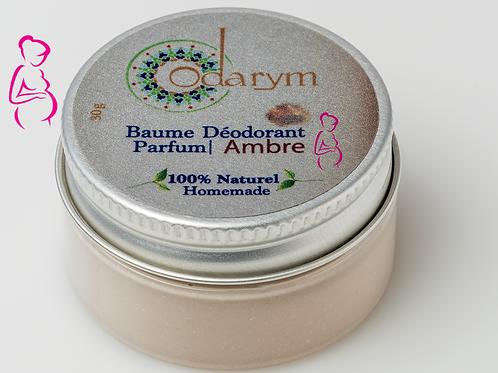 Baume déodorant Femme Enceinte/Allaitante - Ambre