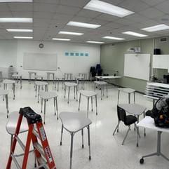 LED Classroom Lighting
