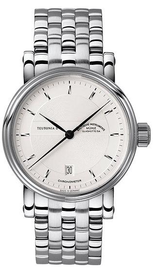 Mühle-Glashütte Teutonia II Chronometer (steel band) M1-30-45-MB