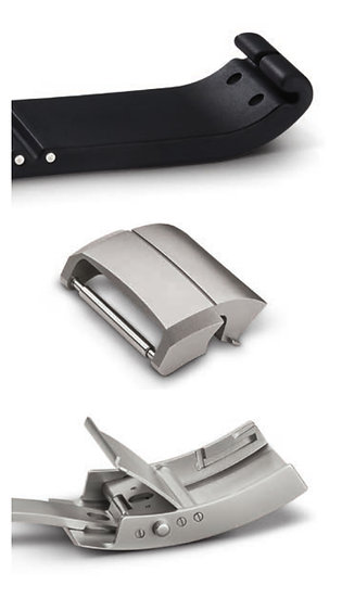 Douflex Band/clasp system for Sinn U models with Black Hardened Case