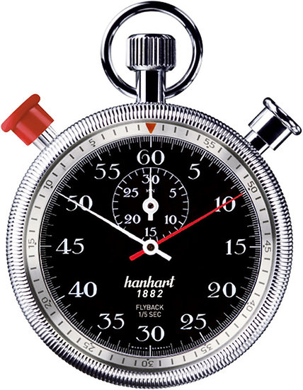 Hanhart Split Seconds Addition Timer with Flyback 135-4060-8E
