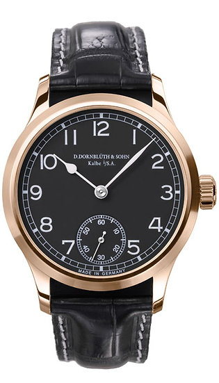 Dornblüth & Sohn 99.0 Rose Gold Black Dial