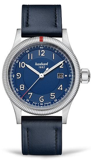 Hanhart Pioneer One Blue Dial
