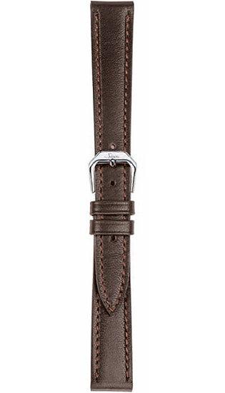 Sinn cow hide strap, mocha, softened, 14mm (ladies)