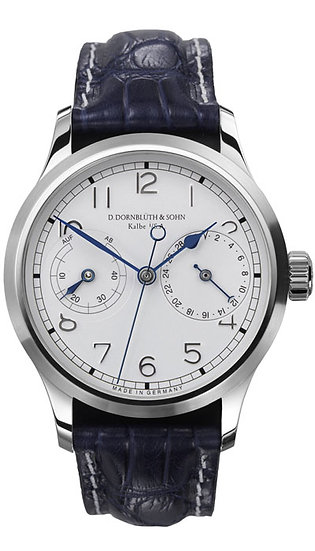 Dornblüth & Sohn 99.5 Silver Dial (applied indices)