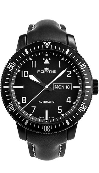 Fortis Aeromaster Mission Time