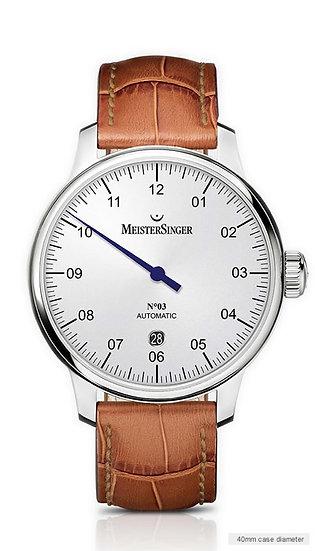 MeisterSinger No 03 Opaline-Silver DM901