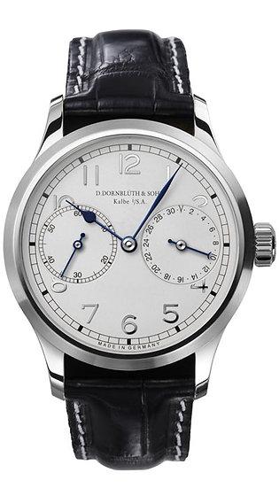 Dornblüth & Sohn 99.4 Silver Dial (applied indices)