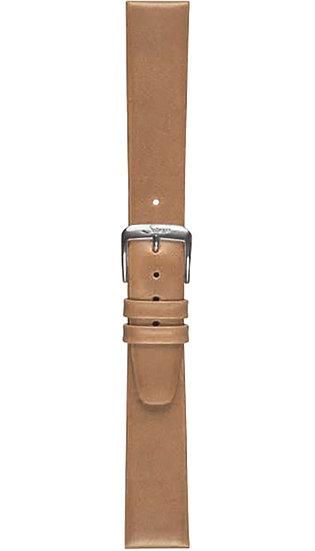 Sinn calf leather strap, gold-brown, 19mm