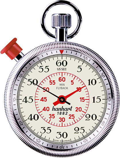 Hanhart MegaMinute Addition Timer with Flyback 185-8860-8E