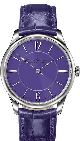 Moritz Grossmann TEFNUT Pure Steel violet dial