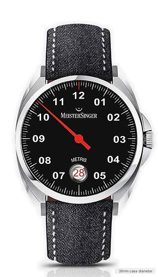 MeisterSinger Metris Black ME902