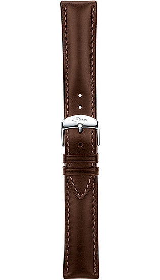 Sinn cow hide strap, mocha, softened, 18mm